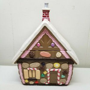 Gingerbread House Cookie Jar Home Decor Christmas